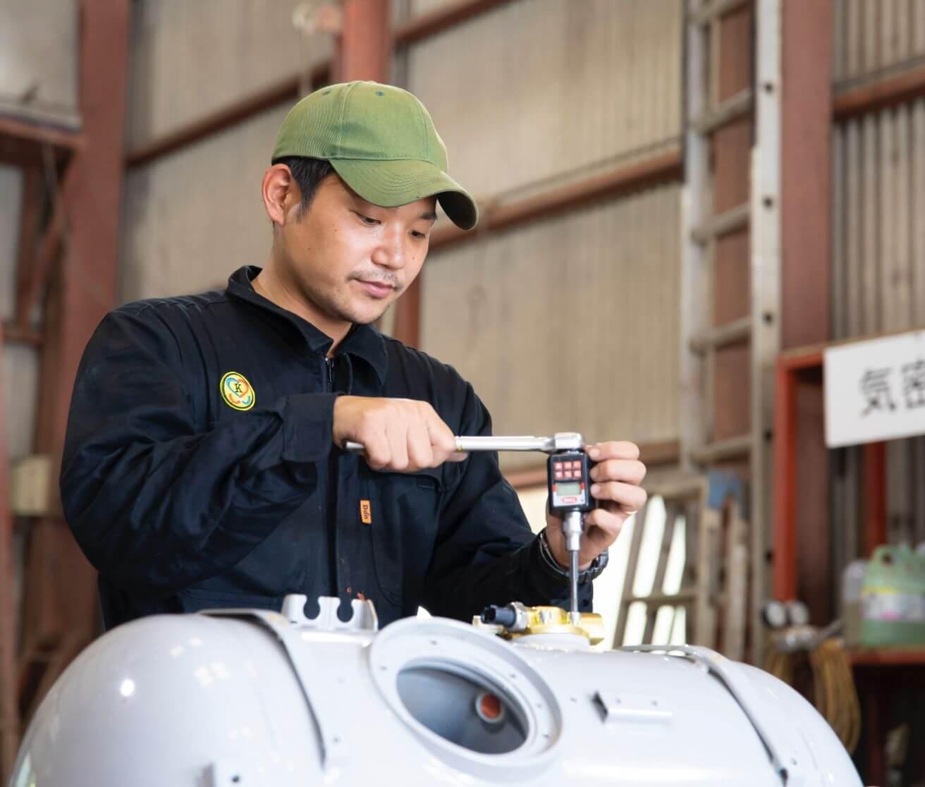 自動車燃料装置用容器再検査