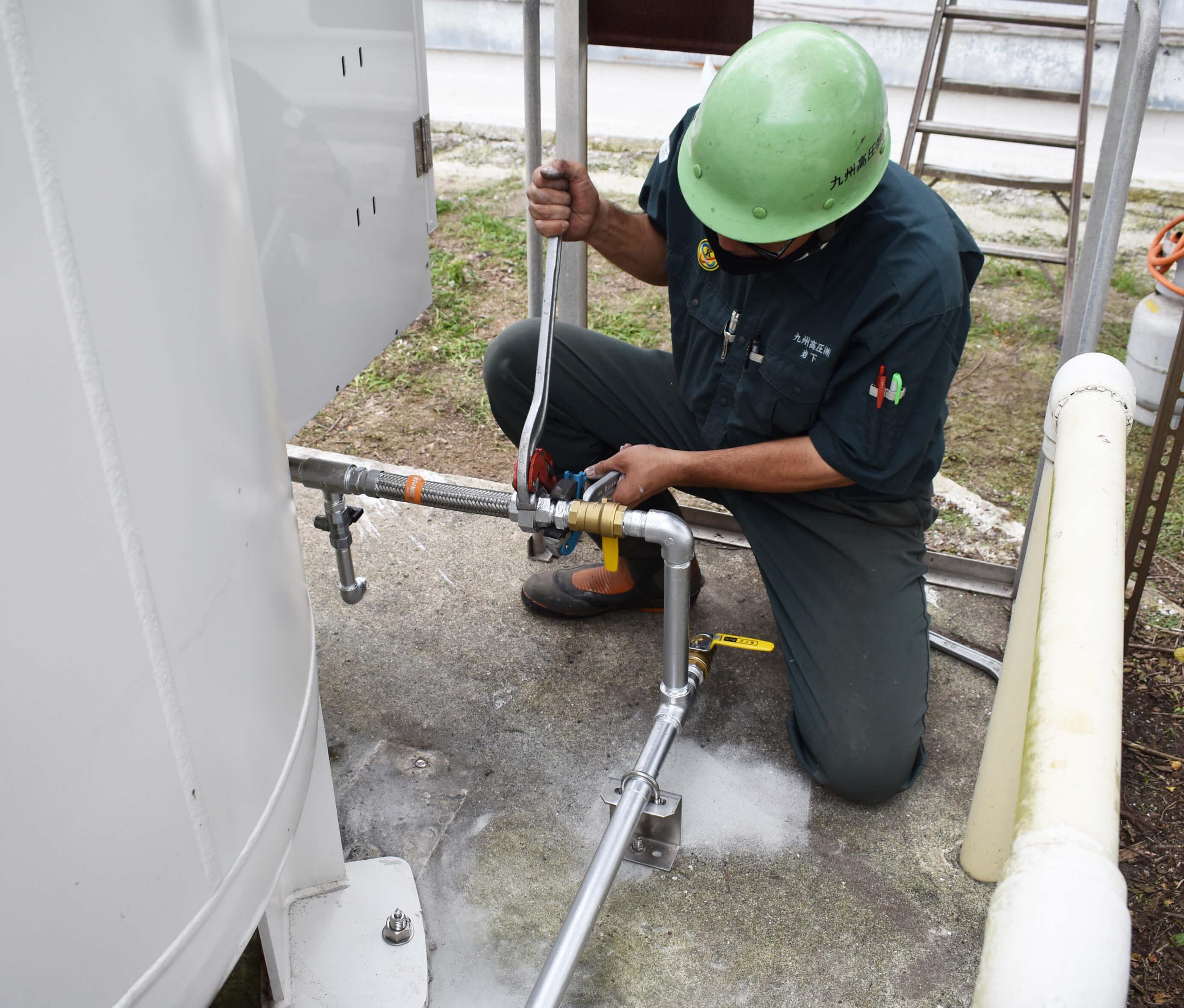 液化石油ガス設備工事