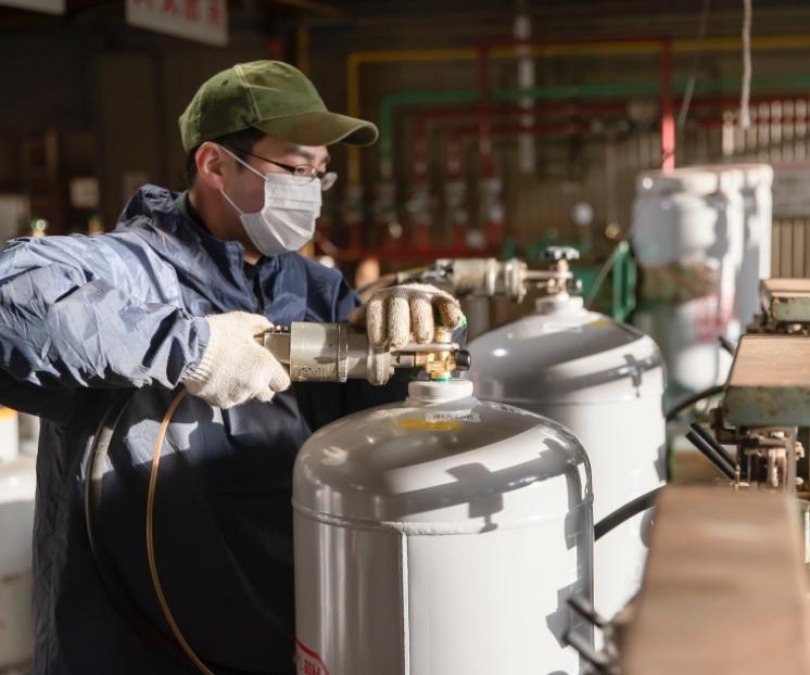 LPガス容器再検査所